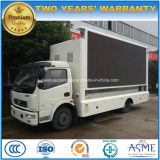 차량을 광고하는 Dongfeng 4X2 LED 6개 T 이동할 수 있는 단계 트럭