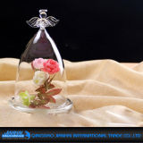 Подгонянная высокая ваза защитного прозрачного стекла боросиликатного стекла