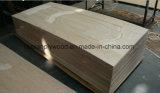 Piel precio barato Ash / teca / Sapeli / Oak HDF / MDF moldeado de chapa de la puerta