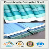 Feuille de toiture en polycarbonate ondulé gaufré