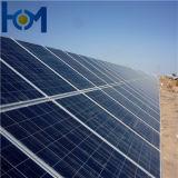 100W a 300W Recubrimiento AR Panel solar de vidrio El vidrio para el módulo