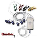 Prueba de esfuerzo de 12 canales automáticos electrocardiograma ECG Meditech Cardios