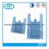 Weicher Schleifen-Griff-Plastikshirt-Einkaufstasche