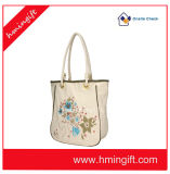 Mulheres China do saco do punho do saco de compra da lona do saco da senhora ombro
