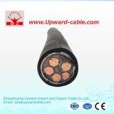 Kupferner Hochspannungstyp 11 KV XLPE Energien-Kabel-