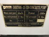Potente preço competitivo Bomba de concreto de qualidade estável com energia elétrica e diesel