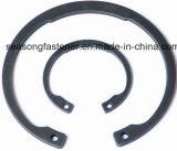 Grampo de retenção do aço inoxidável/anel de retenção/grampo de retenção interno (DIN472)