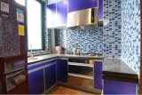 Новый дизайн высокого качества лаком деревянные кухонные кабинета Yb1707047
