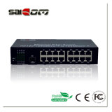 Interruptor Unmanaged do Ethernet das portas 1gx+16ge de Saicom-SCM-G16-SFP 10/100/1000m