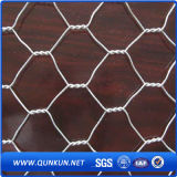 La alta calidad galvanizó pollo hexagonal de alambre de malla con precio de fábrica