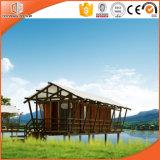 Produkt für Zelt-Tourismus-Leben, wasserdichtes preiswertes Protokoll-Kabine-Fertighaus und hölzernes Luxuxhaus herstellen