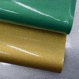 Cuoio dell'unità di elaborazione del Faux del grano del litchi, cuoio del sacchetto di brevetto, cuoio dello smalto