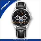 月段階の多機能の完全なカレンダの高品質のWrsitの腕時計の方法