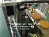 Máquina de etiquetado de la superficie del paquete saquito.