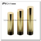 金か銀製のPaitingポンプヘッドが付いている35ml贅沢で装飾的で空気のないびん
