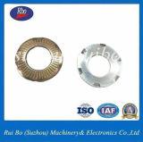 Plaqué zinc 65mn SN70093 contact la rondelle de blocage avec la norme ISO