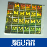 De aangepaste Sticker van het Hologram, 3D Anti-Counterfeit Etiketten van de Laser