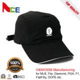 Promoción de la microfibra 100% poliéster Dryfit la ejecución de la moda deportiva gorra de béisbol