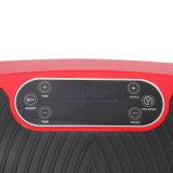99/180 placa loca de la vibración del Massager 3D del ajuste de los motores duales llanos con la pantalla del LCD
