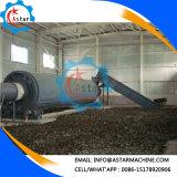 esportatore rotativo della strumentazione di secchezza dei trucioli 2t/H