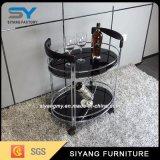 Chinesische Möbel-Edelstahl-Buffet-Auto-Laufkatze