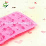 100% moulages de silicones de chocolat/gâteau de la catégorie comestible 12-Cavity bonjour Kitty