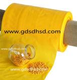 صفراء [مستربتش] سلك وكبل [مستربتش] بلاستيكيّة صفراء