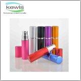 Bouteille réutilisable de jet de parfum de cinq couleurs différentes