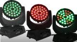 indicatore luminoso capo mobile della lavata dello zoom LED di 36*10W 4in1