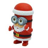 크리스마스 전원함 4000mAh 산타클로스 힘 은행 배터리 충전기
