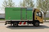 Shacman 4X2에 의하여 냉장된 밴은 음식 5 톤 트럭을 상쾌하게 한다
