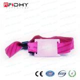 Nuevo Wristband tejido RFID ultraligero único de las ideas MIFARE del producto