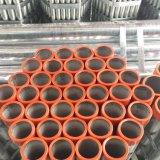 Tubo d'acciaio galvanizzato tuffato caldo BS1387 con l'estremità di filetto del NPT