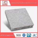 Le marbre léger en aluminium haute résistance de placage de pierre pour la colonne de Panneaux de bardage Honeycomb/ capot colonne