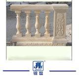 屋外か屋内装飾のためのカスタマイズされたベージュ石造りの大理石のBaluster