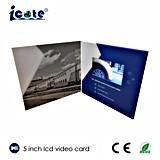 제품 광고를 위한 5inch 영상 브로셔 또는 축제 인사말은 또는 또는 권유 기념한다