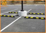 """¡Venta caliente! """" Tapón de goma reflexivo largo 6 pies/72 de la rueda del bloque del estacionamiento del coche"""