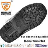 Carregador cheio da segurança do couro de grão do Ce com o impato - resistente