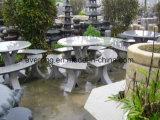 Cheap Granite jardin/parc/Plaza banc de pierre/président et de table pour la décoration extérieure