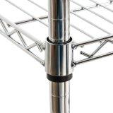 産業NSF 4層800lbsの棚ラックステンレス鋼の金網の棚付け