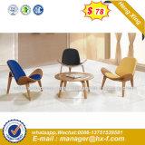 Цельной древесины в ткань для отдыхающих бар стульями кресла (HX-SN8045)