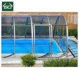 Tampas de alumínio do cerco e da associação da piscina da liga de Auminum, o luxuoso e o grande do espaço