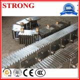 Механизм реечной передачи шестерни для подъема конструкции, частей конструкции запасных