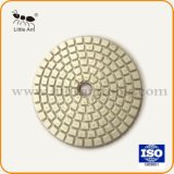 Universal Type Diamond Polishing Pads blanc doux pour l'Engineered Stone