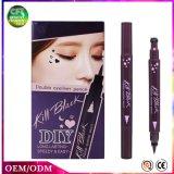 Discount&#160를 얻으십시오; OEM 두 배 끝난 까만 액체는 아름다움에게 장식용 Eyeliner 연필을 구성한다