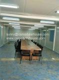 Estructura de acero prefabricada que construye la casa modular del envase de la oficina del edificio
