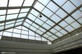 방탄 Sgp 유리제 탄미익 지붕에 의하여 부드럽게 하는 박판으로 만들어진 유리 건물 유리