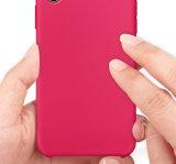 Жидкий силикон мягкая ткань из микроволокна для телефона iPhone X