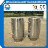 A poeira do ferro remove o separador do cilindro magnético