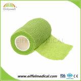 Couleur nouvellement fabriqués Non-Woven cohésive Bandage élastique autoadhésif